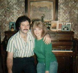 Nancy and I - At home in New Richmond, WI - 1987