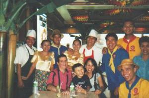 1998 - At the Singing Waiters and Waitresses  Restaurant
