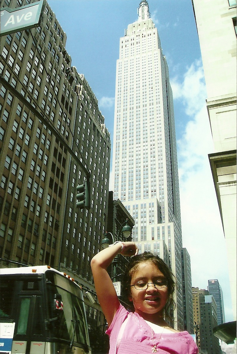Empire State Building...wow these buildings are really tall!