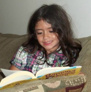 reading Ramona Quimby, age 8