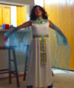 Cleopatra, really.