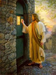 Jesus knocking...