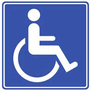 Yes handicapped - that's me!