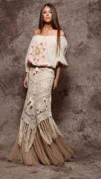 Bohemian, hippie, gypsy style.